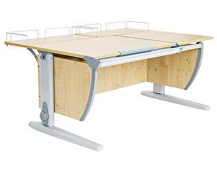 Парта ДЭМИ СУТ-17-01 120х80 см + 2 задних приставки