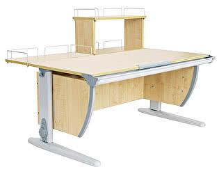 Купить стол Дэми СУТ 15-01Д (парта 120 см+задняя приставка+двухъярусная задняя приставка)