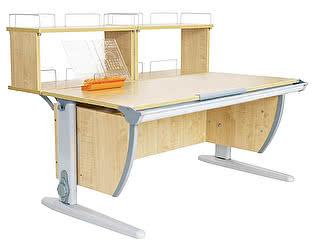 Купить стол Дэми СУТ 15-01Д2 (парта 120 см+две двухъярусные задние приставки)