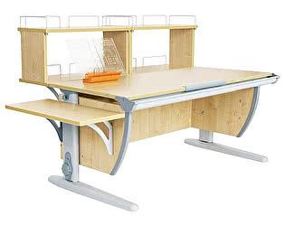 Парта Дэми СУТ 15-02Д2 (парта 120 см+две двухъярусные задние приставки+боковая приставка)