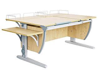 Купить стол Дэми СУТ 17-02 (парта 120 см+две задние приставки+боковая приставка)
