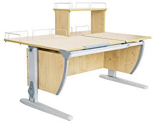 Купить стол Дэми СУТ 17-01Д (парта 120 см+задняя приставка+двухъярусная задняя приставка)