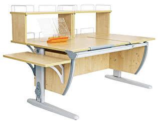 Купить стол Дэми СУТ 17-02Д2 (парта 120 см+две задние двухъярусные приставки+боковая приставка)