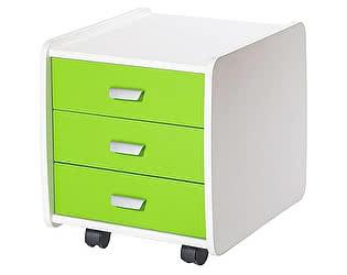 Тумба Лидер 3 ящика с цветными фасадами