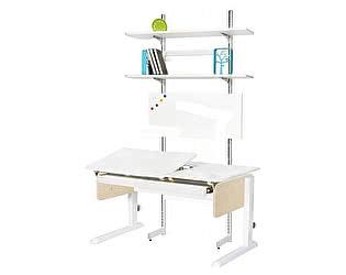 Купить стол Астек Лидер с выдвижным органайзером и стеллажом