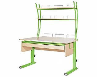 Купить стол Астек Моно-2 с надстройкой и выдвижным органайзером
