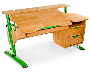 Купить стол PONDI  из массива Эргономик с тумбой