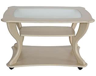 Купить стол Калифорния мебель Маэстро со стеклом СЖС-02