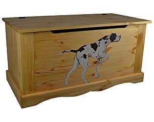 Сундук Волшебная сосна Coffre 100 Dog chien (гончая)