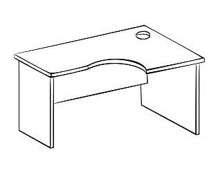 Стол компьютерный Витра 41(42).45