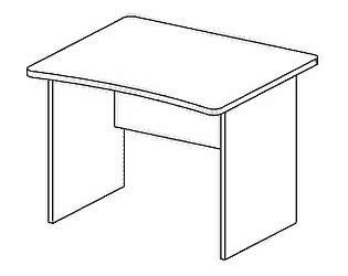 Стол компьютерный Дэфо BM271