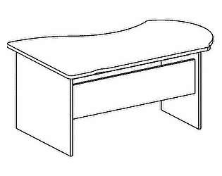 Стол компьютерный Дэфо B101