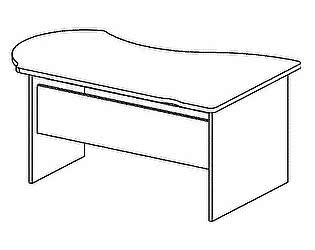 Стол компьютерный Дэфо B104
