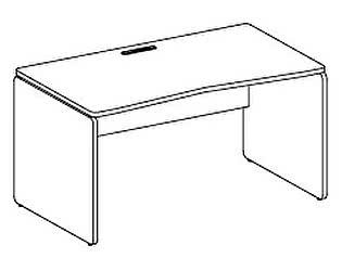 Стол компьютерный Дэфо 48S012