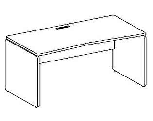 Стол компьютерный Дэфо 48S013