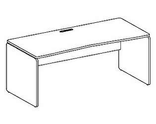 Стол компьютерный Дэфо 48S014