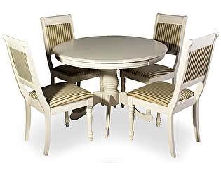 Обеденная группа Mr. Kim стол OP-T4EX и 4 стула CH-SC