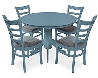 Обеденная группа Mr. Kim стол Conifero и  4 стула Petalo