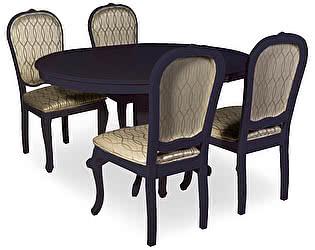 Обеденная группа Mr. Kim стол Amarena и 4 стула Treto