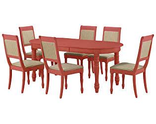 Обеденная группа Mr. Kim стол Amarena и 6 стульев Grappolo