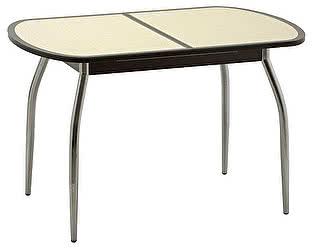 Стол кухонный Кубика Касабланка-1 (ноги хром)