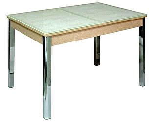 Стол кухонный Кубика Бомбей-2 (ноги хром)