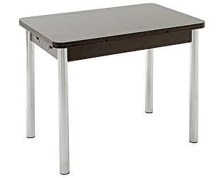 Стол кухонный Кубика Милан-3 (ноги хром)