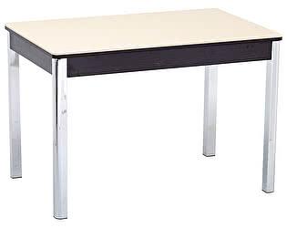 Стол кухонный Кубика Бамберг-1 (ноги хром)
