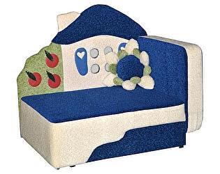 Диван детский Мебель-Холдинг Теремок синий