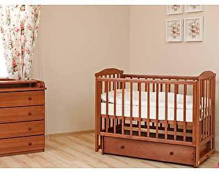 Кроватка для новорожденных Лель Лютик АБ 15.2