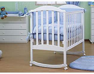 Кроватка для новорожденных Лель Лилия АБ 17.0
