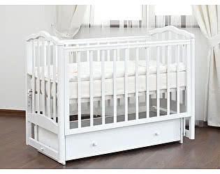 Кроватка для новорожденных Лель Жасмин АБ 19.2