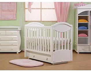 Кроватка для новорожденных Лель Камелия АБ 23.2