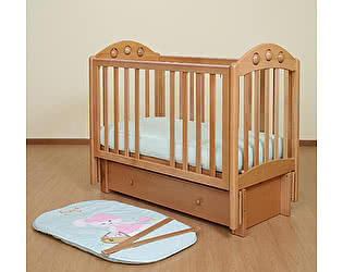 Кроватка для новорожденных Лель Орхидея АБ 24.2