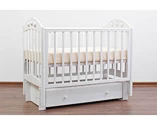 Кроватка для новорожденных Лель Орхидея АБ 24.3