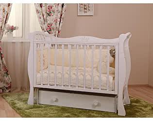Кроватка для новорожденных Лель Ландыш БИ 07.2