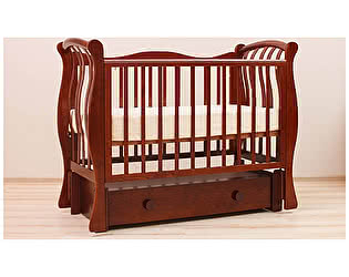 Кроватка для новорожденных Лель Ландыш БИ 07.3
