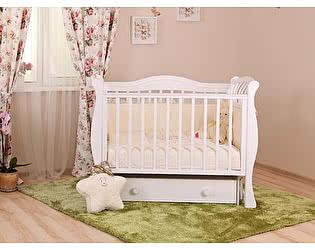 Кроватка для новорожденных Лель Маргаритка БИ 08.4