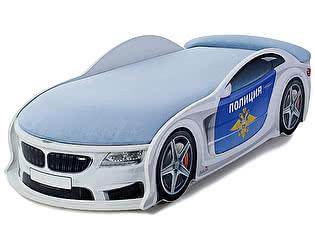 Кровать-машина МебеЛев БМВ Полиция
