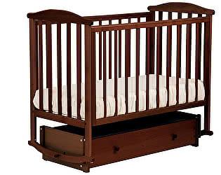 Кроватка для новорожденных Лель АБ 15.4