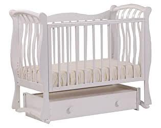 Кроватка для новорожденных Лель БИ 07.4 Ландыш