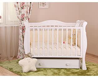 Кроватка для новорожденных Лель Маргаритка БИ 08.2