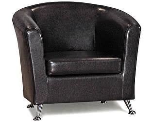 Кресло СМК 040.08 коричневый