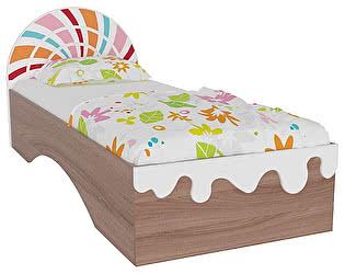 Кровать Мебельсон Пряничный домик (80)