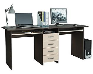Компьютерный стол МФ Мастер Тандем-2П