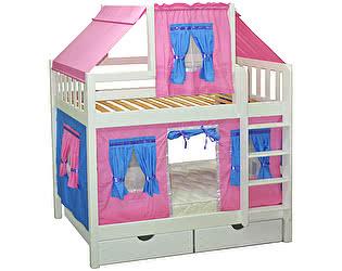 Кровать двухъярусная Мебель-Холдинг Скворушка
