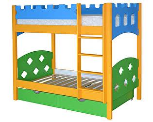 Кровать двухъярусная Мебель-Холдинг Ланцелот