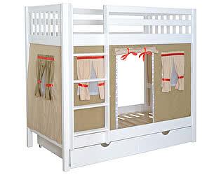 Кровать двухъярусная Мебель-Холдинг Галчонок