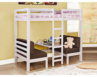 Кровать-чердак Мебель-Холдинг Друзья