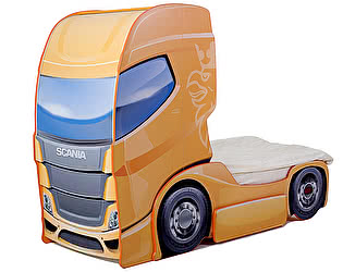 Купить кровать МебеЛев машина Скания+1